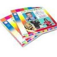Full color printing 350gsm single glossy art paper Childrens Coloring Book Printing Manufactures