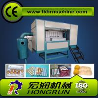 1000pcs/hr Semi-Automatic  egg tray making machine Manufactures