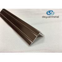 6063 T5 Polishing Bronze Aluminium Trim Extrusion Profile GB/75237-2004 Manufactures