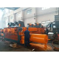 Automatic Control Power 180kW Scrap Baler Machine , Hydraulic Baling Press Machine Manufactures