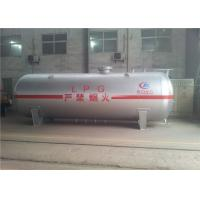 High Strength Large Propane Gas Tanks , 10mm 12mm Q345R Body Lpg Propane Tank Manufactures