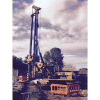 Foundation Pile Drilling Hydraulic Piling Rig With Rotary Angle Displacement Output Mechanism KR150C Manufactures