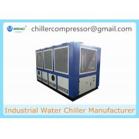 152kw 43 Tons Air Cooled Screw Water Chiller Packaged Industrial Chiller Manufactures