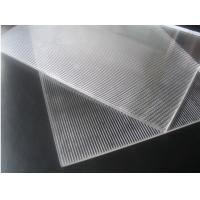 OK3D 20LPI Lenticular PS sheet standard size 1.2*2.4m 3mm thickness for 3d flip effect lenticular printing Manufactures