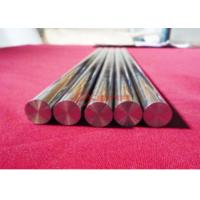 China High Purity Polished Niobium Bar / Rod With Alkaline Cleaning Surface on sale