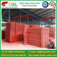 100M CFB Boiler Superheater Petrochemical Natural Gas Industry Boiler Spare Part Manufactures