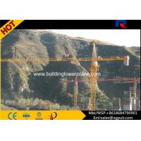 QTZ5613 8T Lifting Load Building Tower Crane Jib Length 13.36m With Remote Control Manufactures