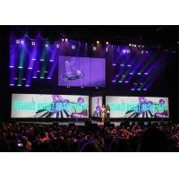 Front Maintenance 6mm Led Wall Stage Design , Indoor Led Panel Videowall Manufactures