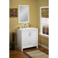 Solid Wood Bathroom Cabinet / Furniture / Vanity (MJ-273-75CM) Manufactures