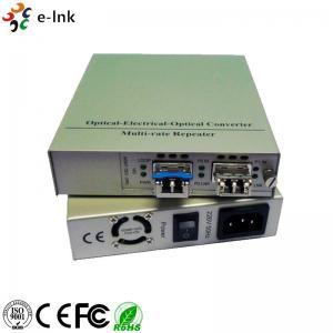 10G Fiber Ethernet Media Converter Standalone SFP+ to UTP 10G Media Converter Manufactures