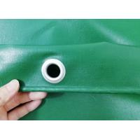 650gsm Waterproof UV Stabilized PVC Truck Cover B1 Flame Retardant In Green Color Manufactures