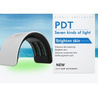 Home PDT LED Light Therapy Machine / Photon Skin Rejuvenation Beauty Machine Manufactures
