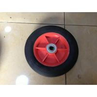 Solid Powder Rubber Trolley Wheels 8X1.75 For wheelbarrow RP1202 Manufactures
