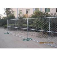 China Hot Dipped Galvanized 1.6mm Wall Thickness Temporary Chain Link Fencing Panels on sale
