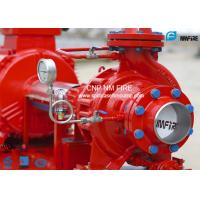 UL / FM Approved End Suction Fire Pump 200GPM @ 215PSI For Firefighting Use Manufactures