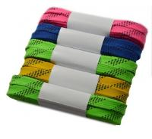 1Cm / 1.5cm Width Coloured Custom Shoe Laces , Heat Transfer Lanyard  For Decoration