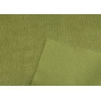 Quality Nyloy Corduroy Fabric Clothes Stretch Corduroy Fabric Green Grey Blue for sale