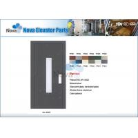 NV31-S Series  Stainless Steel Semi-Automatic Elevator Automatic Door For Cargo Lift Manufactures