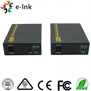 3860 x 2160 30Hz Fiber Optic To Hdmi Converter 3D Signal SM 2km 4K Manufactures
