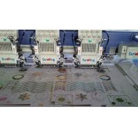 8 Head Embroidery Machine For Hats And Shirts USB Port Network Control
