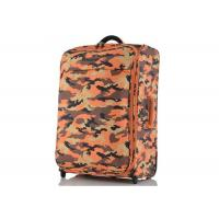 Leisure style 300D polyester lightweight travel luggage sets with Embroidery logo Manufactures
