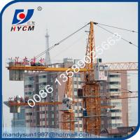 50m Jib 6t Hammer Head Tower Crane Widely Used for High Rise Building Construction Manufactures
