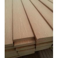 Wood fabric and PE composite Solid deck , WPC Solid Board for outdoor landscaping Manufactures
