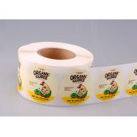 Print Vinyl Adhesive Product Stickers Labels Printing With Glassine Paper Manufactures
