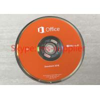 Microsoft Office Standard 2016 Full Version DVD / CD Media Wndows Retail Box Online Activation