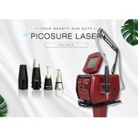 Non - Invasive Laser Skin Treatment Nd Yag Laser Tattoo Removal Machine For Chest Or Decollete Manufactures