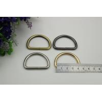 China manufacture supplier 38mm 4 color welded iron wire D Ring for wholesale
