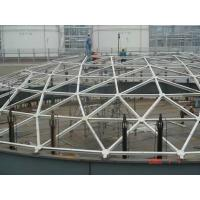 Quality Geodesic Aluminum Dome Roof Seal For Storage Tank Customized Size for sale