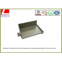 Sheet metal fabrication steel cover with grey powder coating Manufactures