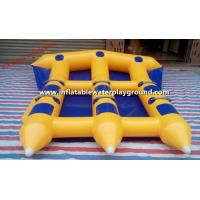 Adults Inflatable Towables , Inflatable Flying Fish With Durable Anchor Ring Manufactures