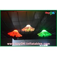 China Hanging Flower Inflatable Lighting Decoration , Inflatable Christmas Decorations on sale