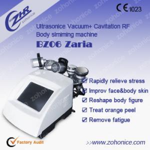 Bio Vacuum Rf Cavitation Body Slimming Machine For Shaping Body One Year Warranty Manufactures