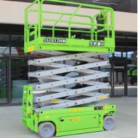 China CE Certificated 11m Self Propelled Mobile Scissor Lift Platform on sale