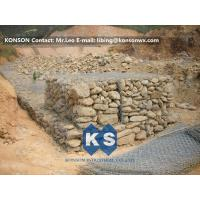 China Zinc Wire Coated Hexagonal Wire Mesh Gabion Rock Boxes for Controlling Flood on sale