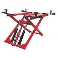 Low Profile Two Post Hydraulic Auto Lift 1100mm , 380V 2.8T Scissor Car Lift Manufactures