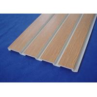 Customized Fixture Slat Wall Panels Manufactures