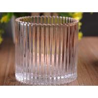 530Ml Personalized Glass Candle Holders For Table , Eco Friendly Manufactures