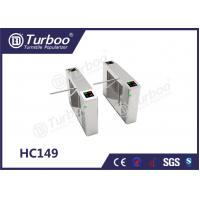 Pedestrian Access Control Turnstile Gate Overall Plate Structure For Entrance Control