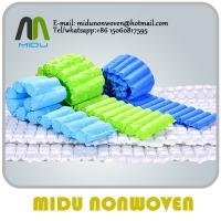 65gsm beige polypropylene Nonwoven Fabric soft Spring Bags eco non woven material Manufactures