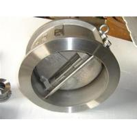 Quality Single - Disc Swing Wafer Check Valve Americal ANSI ASME , Non Return Valve for sale