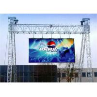 Seamless Waterproof LED Display 14 Gray Scale For Outdoor Advertising