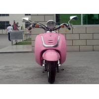 Pink Color Adult 50cc Motocross Bikes 2 Seats Mini Street Bikes For Lady Manufactures