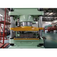 4 Columes Structure Plate Vulcanizing Machine Single Operation Platform Face - Down Design Manufactures