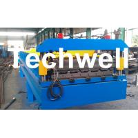 Quality 3 Kw Hydraulic Motor Power Trapezoidal Roofing Sheet Roll Forming Machine TW-RWM for sale