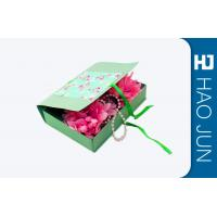 China Flat Pack Cardboard Gift Boxes Packaging With Foldble Lids , Square Shape on sale
