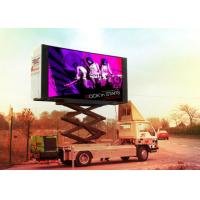 Full Color PH12.8mm 1R1G1B Trailer Mounted Led Screens Display For Advertising Media Manufactures